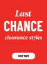 Clearance: Up to 70% Off! Get them before they are gone!