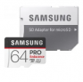 Samsung Pro Endurance 64GB Micro SDXC Flash Card $11 at Amazon