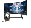 Samsung Odyssey Neo G9 DQHD 49″ Curved Mini-LED Monitor + JBL Quantum One Headset $2500 at Amazon