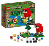 LEGO Minecraft The Wool Farm $16 at Amazon