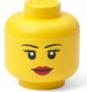 LEGO Mini Girl Stackable Storage Head $7.99 at Amazon